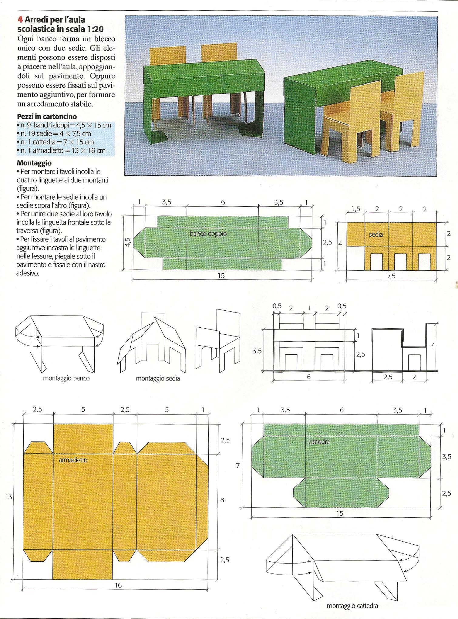 Modellini di carta da costruire wa34 regardsdefemmes for Come costruire i passaggi della scatola