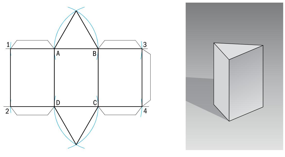 Tavole per le classi seconde a scuola di tecnologia for Come disegnare piani di costruzione