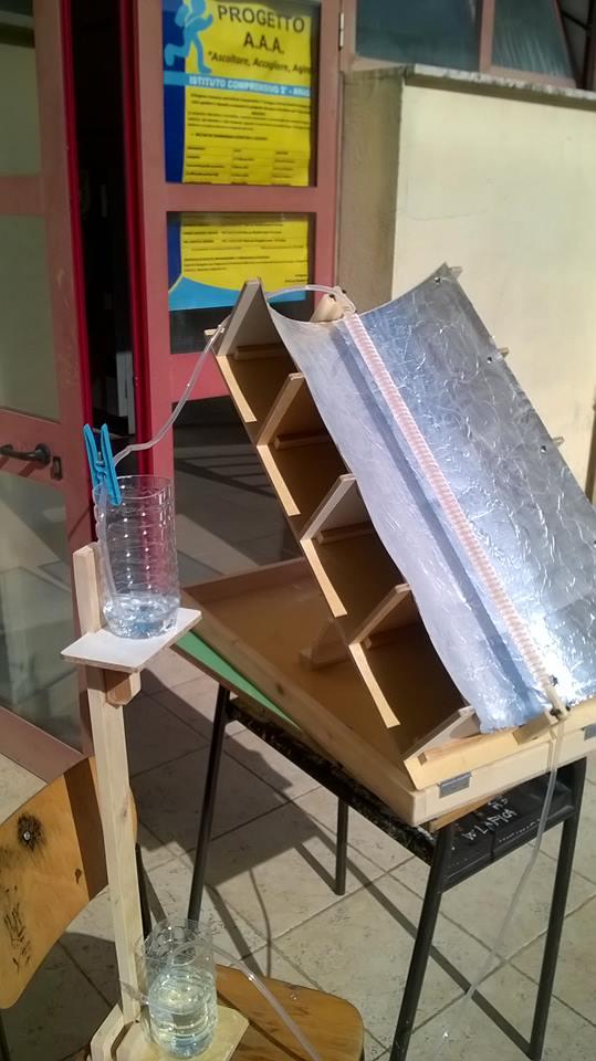 Pannello Solare Termico Daikin : Modellini per le classi terze a scuola di tecnologia