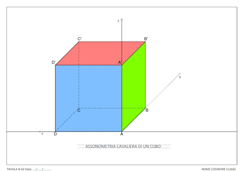 tav-02-assonometria-cavaliera-di-un-cubo